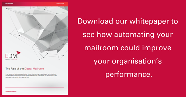 Download our whitepaper to see how automating your mailroom could improve your organisation's performance.