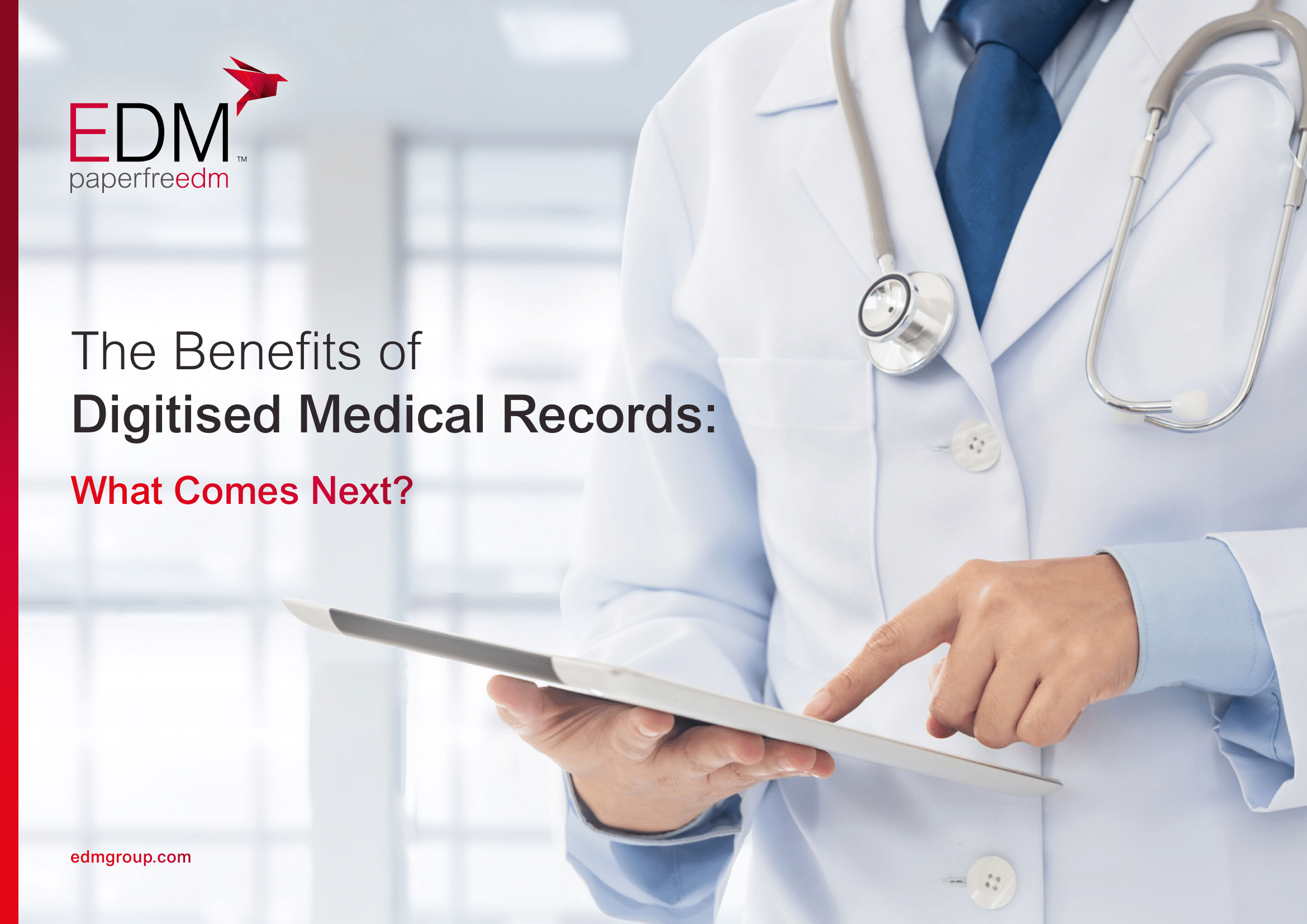 The Benefits of Digitised Medical Records: What Comes Next?