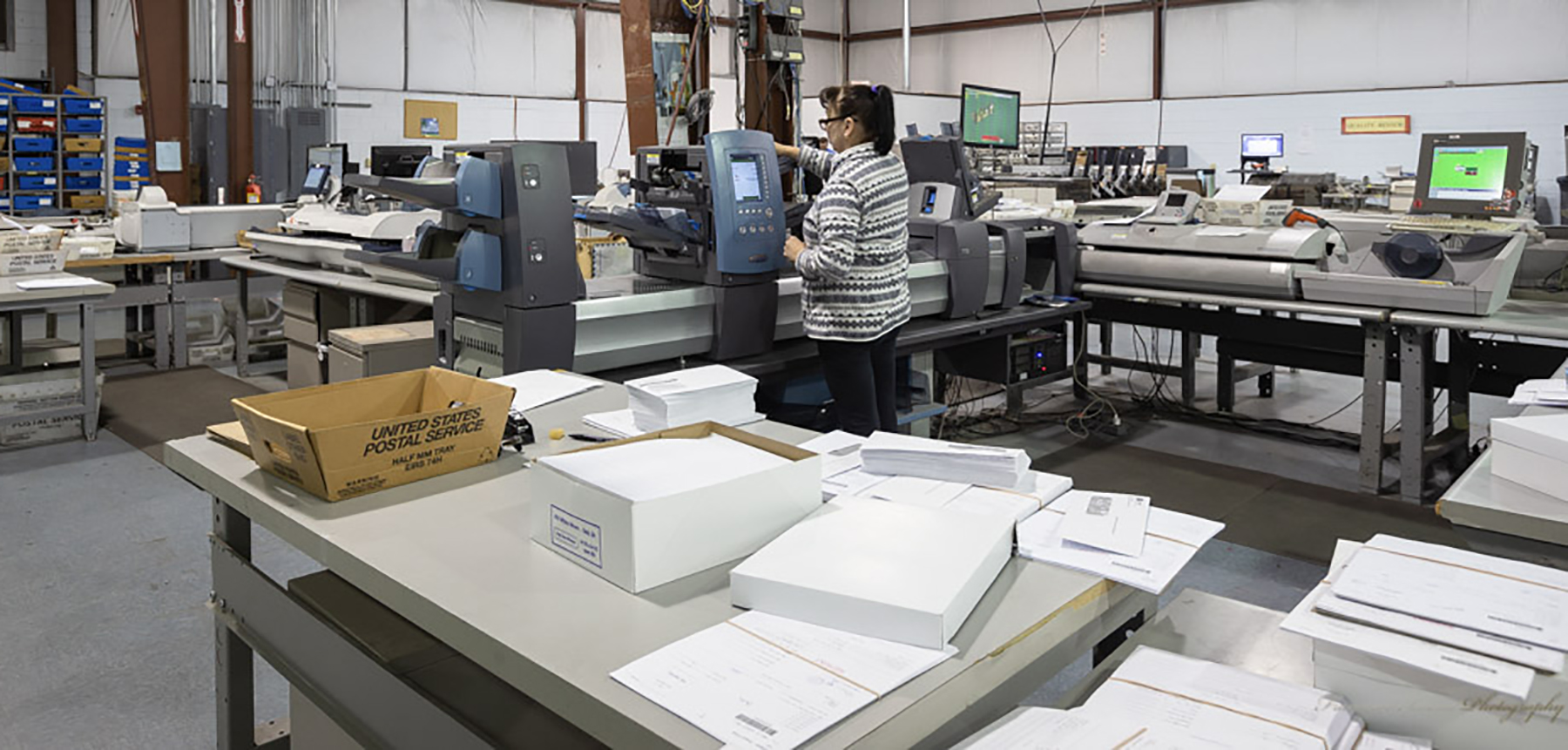 Providing Essential Print and Mail Services to Healthcare Clients