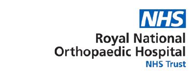 Royal Orthopaedic logo