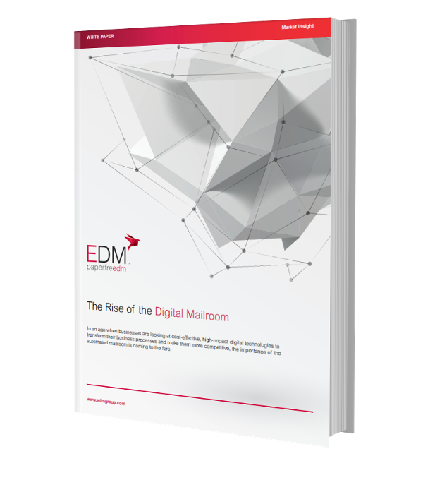 The Rise of the Digital Mailroom - Front Cover Image v2