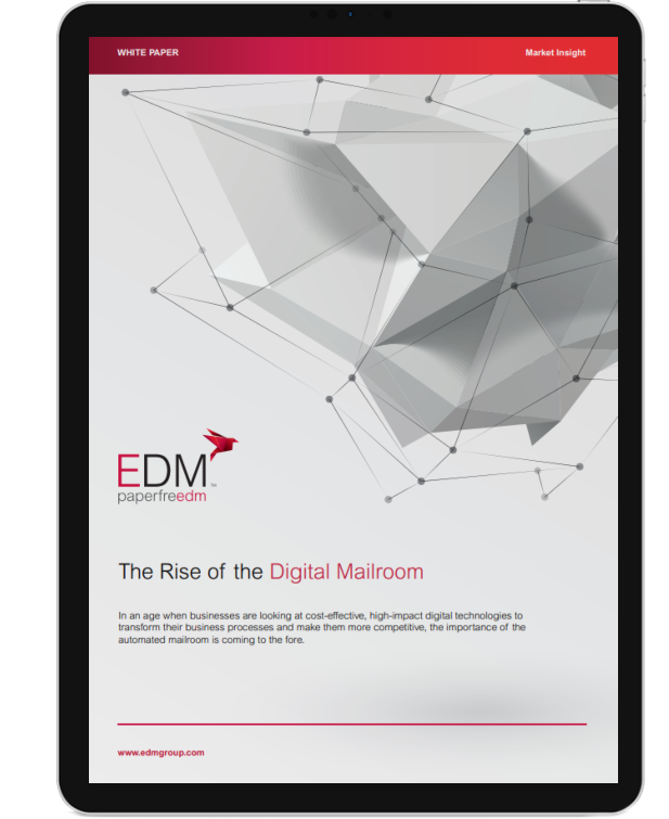 Rise of digital mailroom ipad